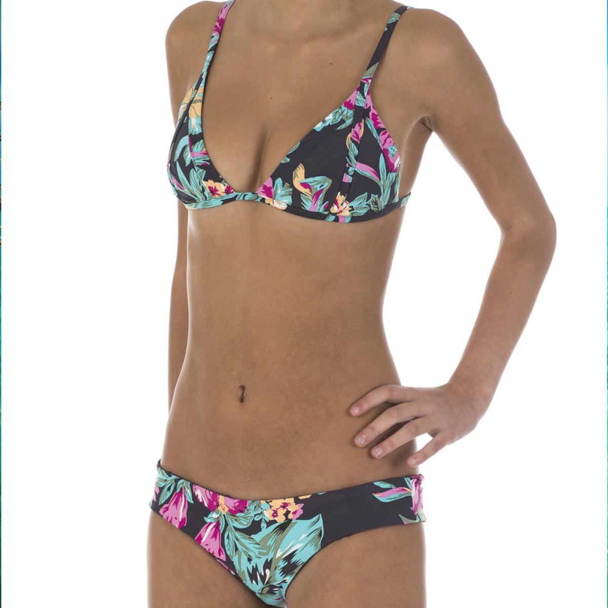 maillot 2 pieces triangle paradise found grey par rip curl. Black Bedroom Furniture Sets. Home Design Ideas