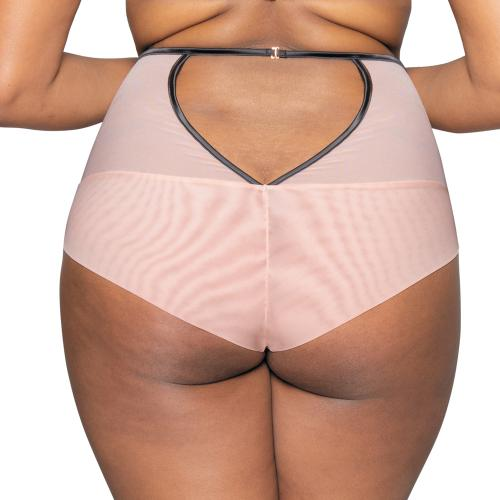 Culotte taille haute rose Heart Throb Scantilly