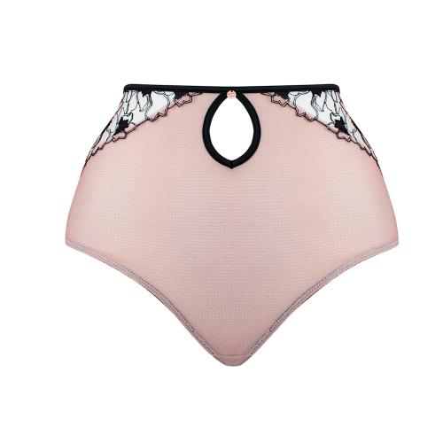 Culotte taille haute rose - Lingerie Scantilly
