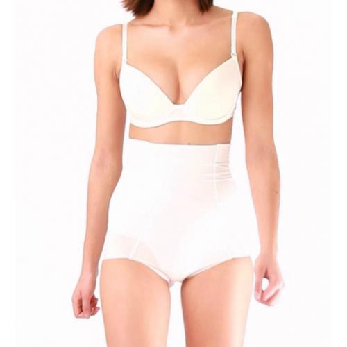 Culotte Gainante Invisible Ivoire-Blanc