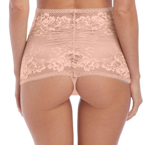 String taille haute beige Lace to Love Wacoal