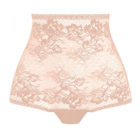 String taille haute beige - Strings et tangas