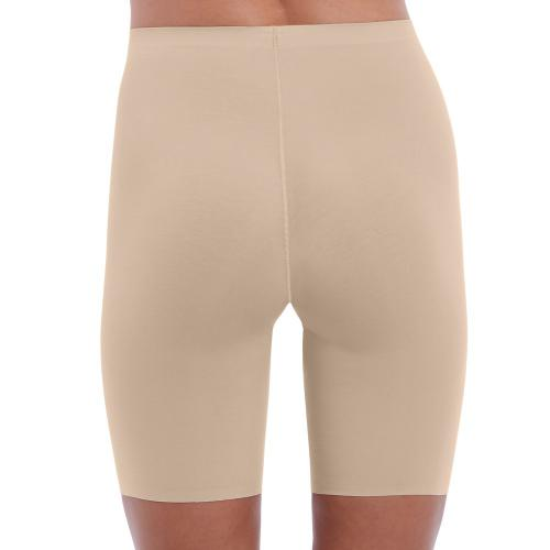 Panty gainant beige Beyond Naked Cotton Shapewear Wacoal