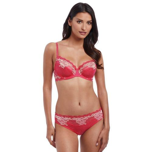 Soutien-gorge fuschia Lace Perfection Wacoal