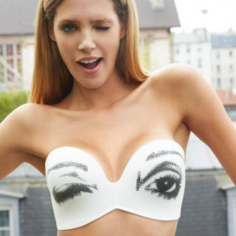 Soutien-gorge bandeau Ultimate strapless edition limitee Wonderbra