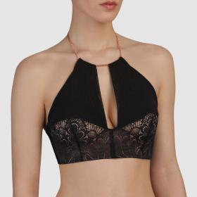 Soutien-gorge bandeau Ultimate Strapless noir Wonderbra - Push-up - Lingerie Wonderbra