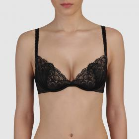 Soutien-gorge natural push-up noir Wonderbra - Push-up - Lingerie Wonderbra